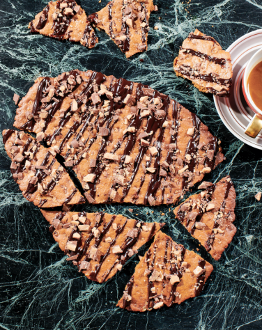 Holiday cookie bark